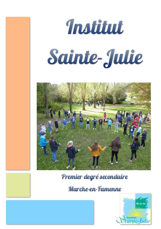 brochure sainte julie